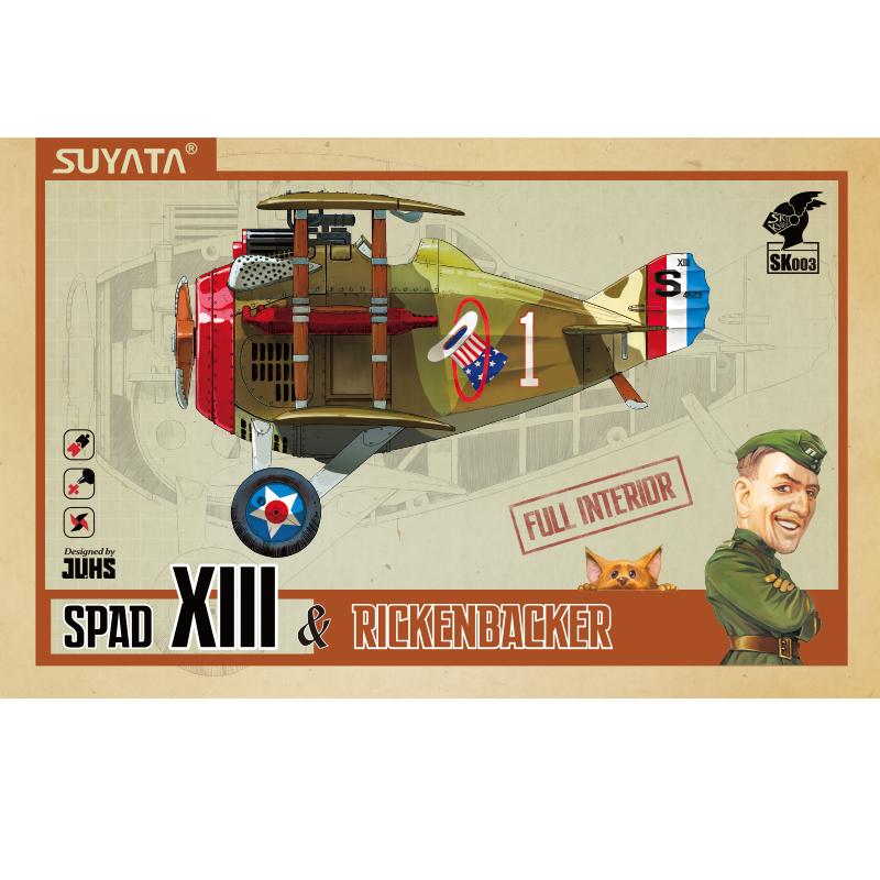 Suyata Spad XIII & Rickenbacker
