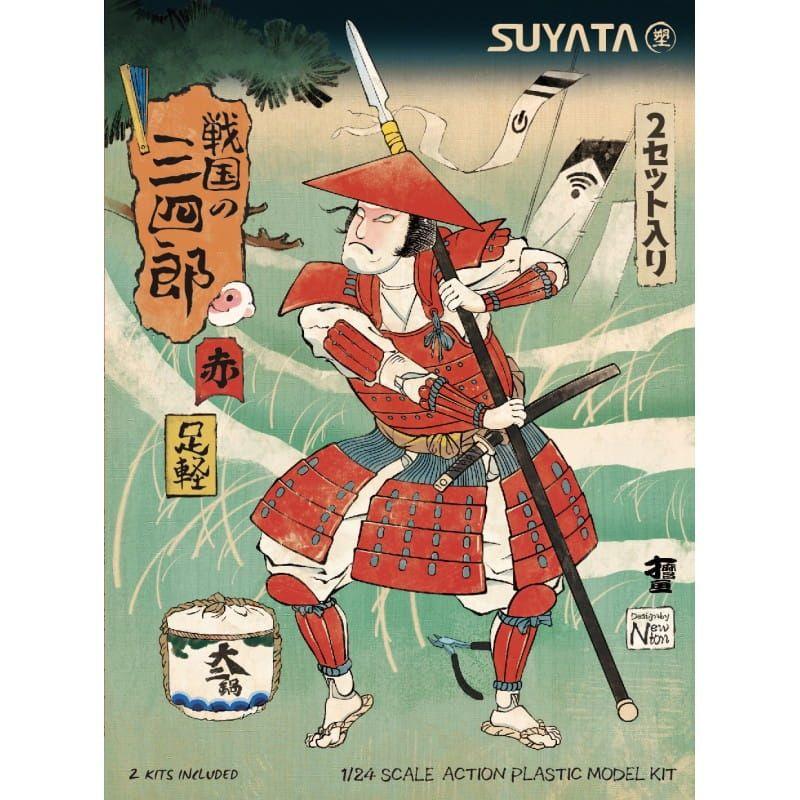 Suyata SANNSHIROU FROM THE SENGOKU-ASHIGARU WITH RED ARMOR
