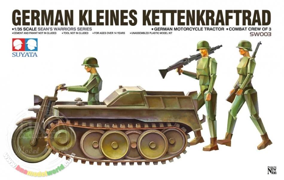 Suyata GERMAN KLEINES KETTENKRAFTRAD