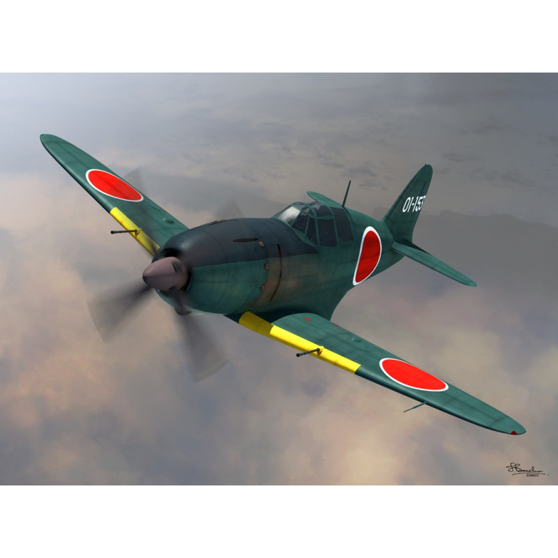 Sword Models 1/72 J2M2 Raiden model 11 (late version), Aircraft