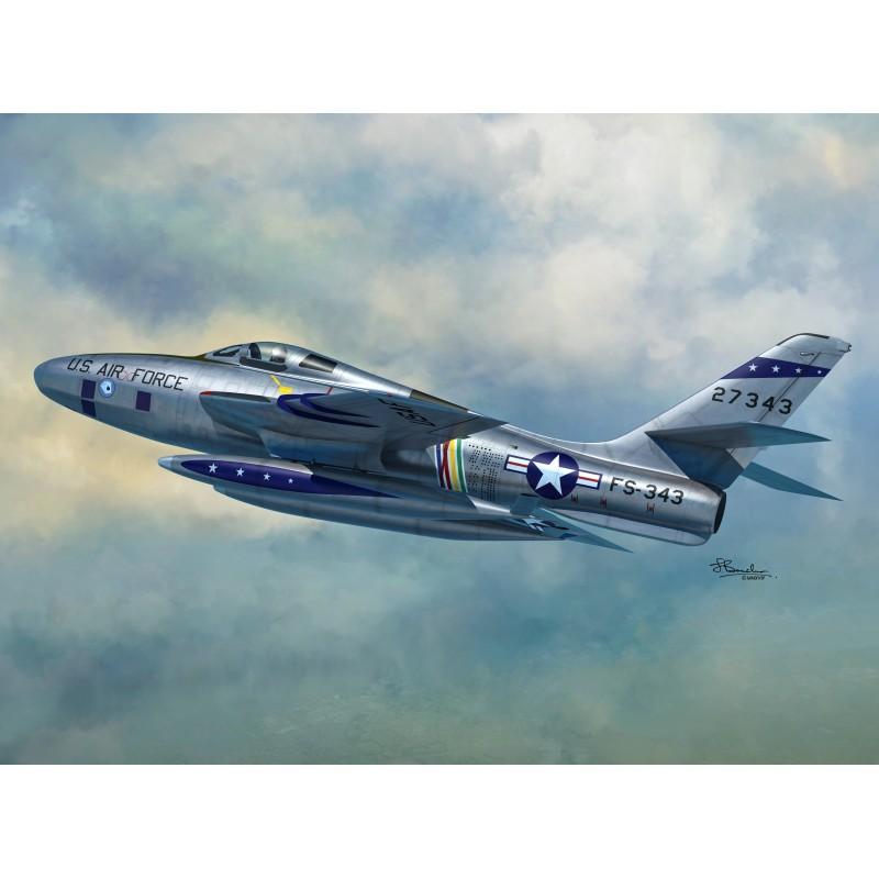Sword Models 1/72 RF-84F Thunderflash (USAF, BAF, RNAF, IAF), Aircraft