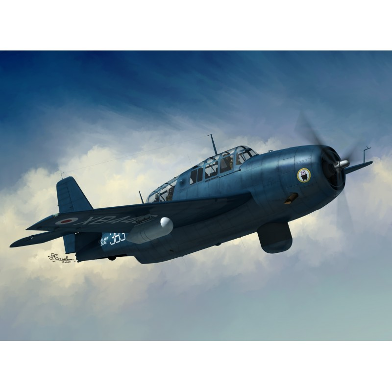 Sword Models 1/72 Avenger AS.4, Aircraft