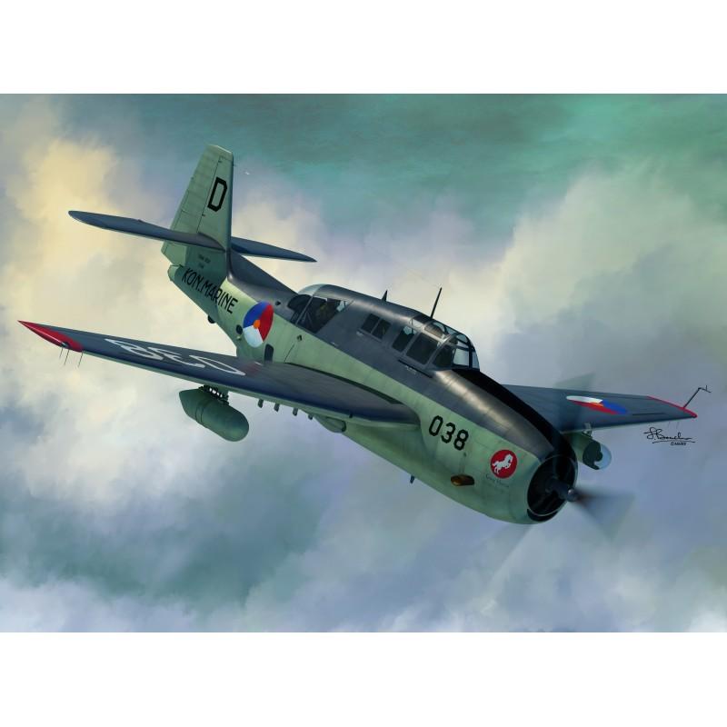 Sword Models 1/72 TBM-3S2, Aircraft