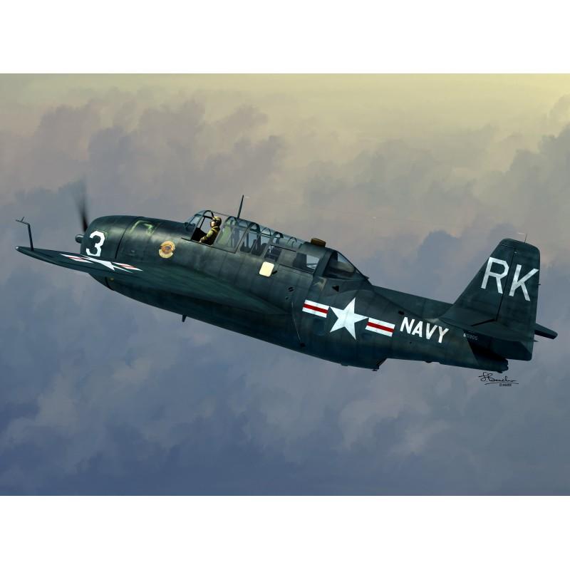 Sword Models 1/72 TBM-3R, Aircraft