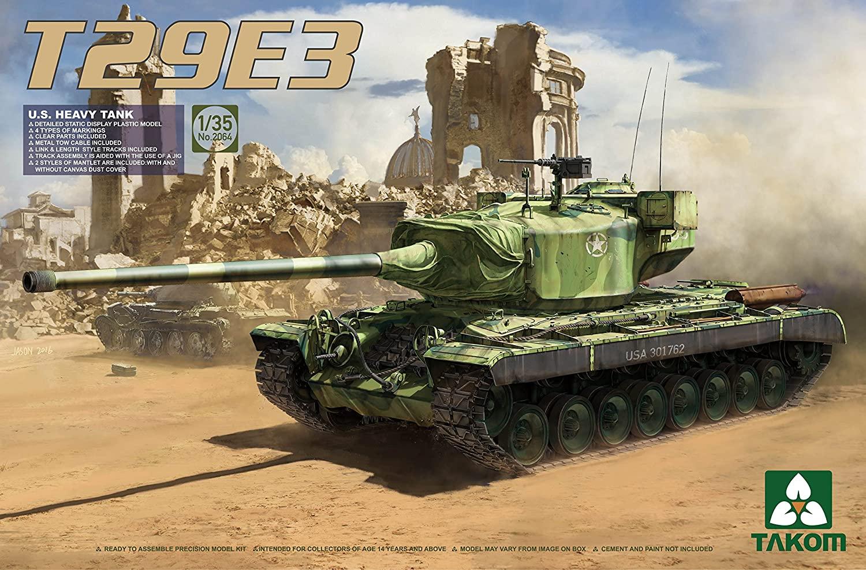 Takom 1/35 U.S. Heavy Tank T29E3
