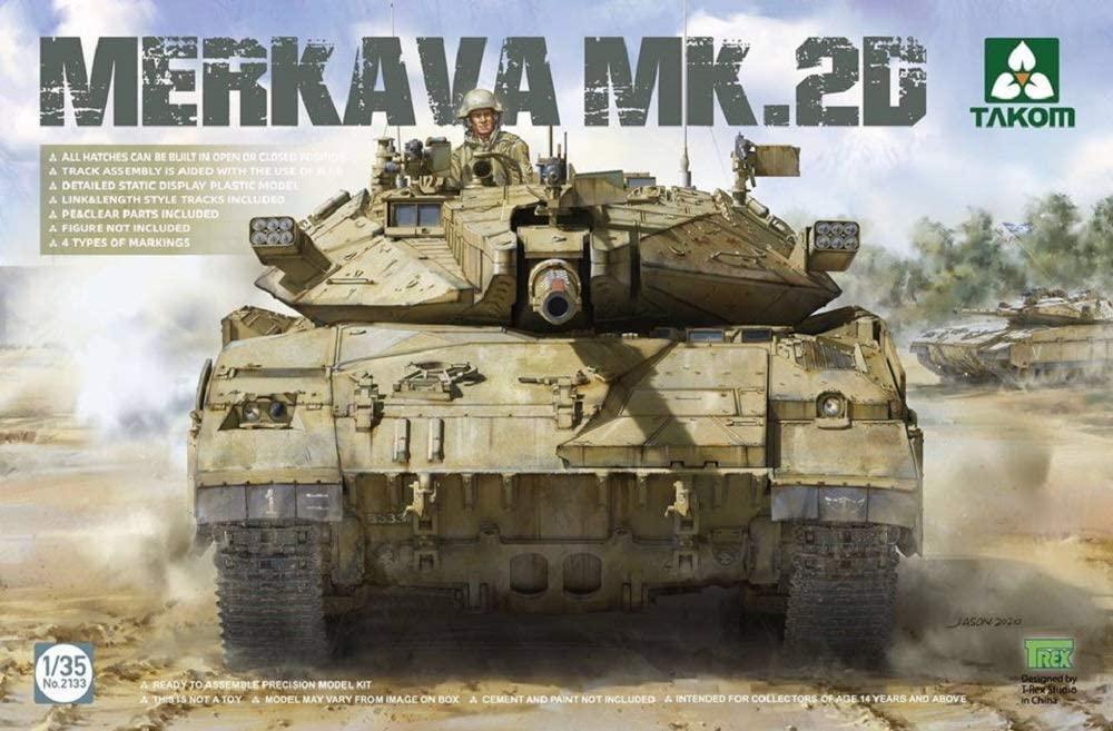 Takom 1/35 MERKAVA MK.2D Tank