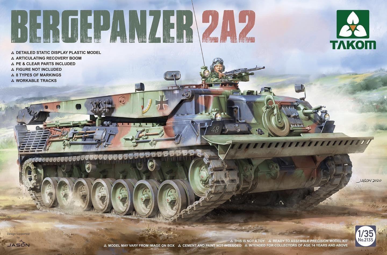Takom 1/35 Bergepanzer 2A2 Tank
