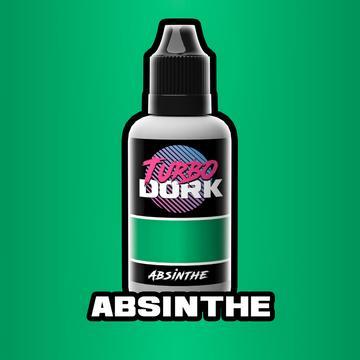 Turbo Dork Absinthe Metallic Acrylic Paint - 20ml Bottle