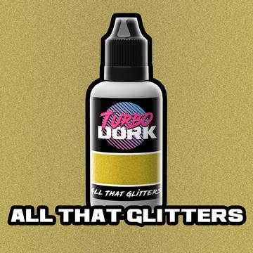 Turbo Dork All That Glitters Metallic Acrylic Paint - 20ml Bottle