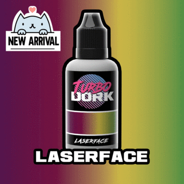 Turbo Dork Laser Face Turboshift Acrylic Paint - 20ml Bottle