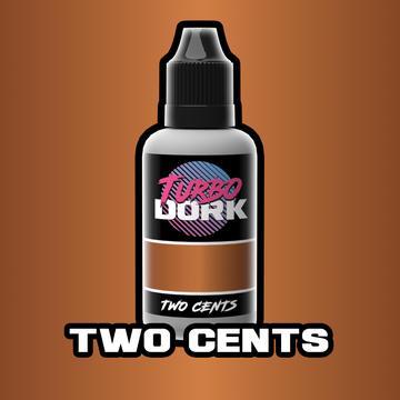 Turbo Dork Two Cents Metallic Acrylic Paint - 20ml Bottle
