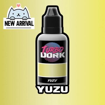Turbo Dork Yuzu Metallic Metallic Acrylic Paint - 20ml Bottle