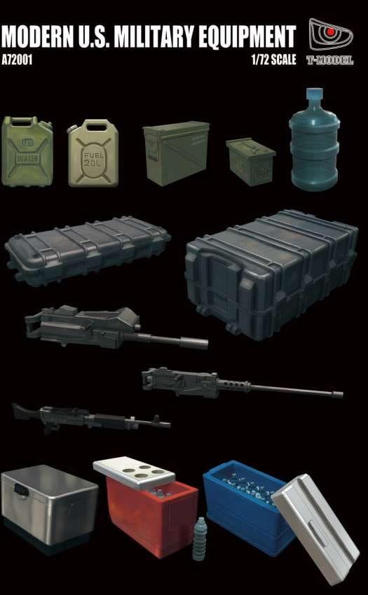 T-Model (Tiger Models) 1/72 Modern US Military Equipment Kit
