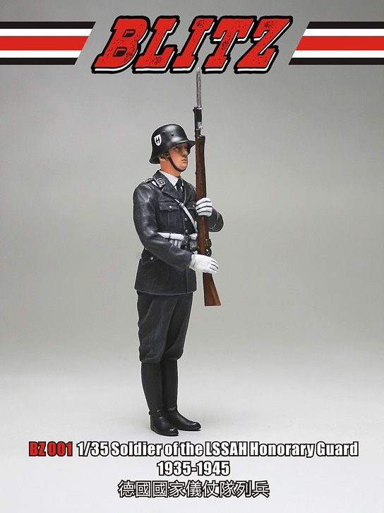 Blitz 1/35 Soldier of the LSSAH Honorary Guard  (1935-1945)