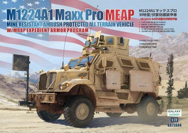 Galaxy Hobby 1/72 M1224A1 Maxx Pro MEAP w/ MRAP Expedient Armor Program