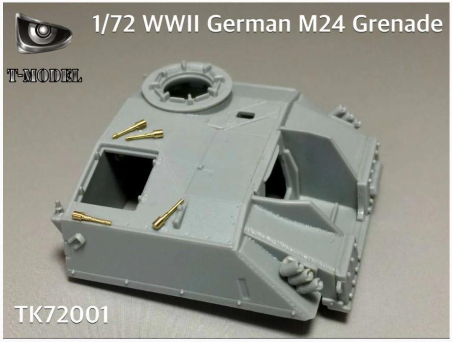 T-Model (Tiger Models) 1/72 WWII German M24 Grenade
