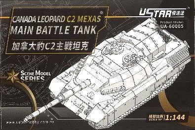 Ustar 1/144 Canada Leopard C2 Mexas Main Battle Tank