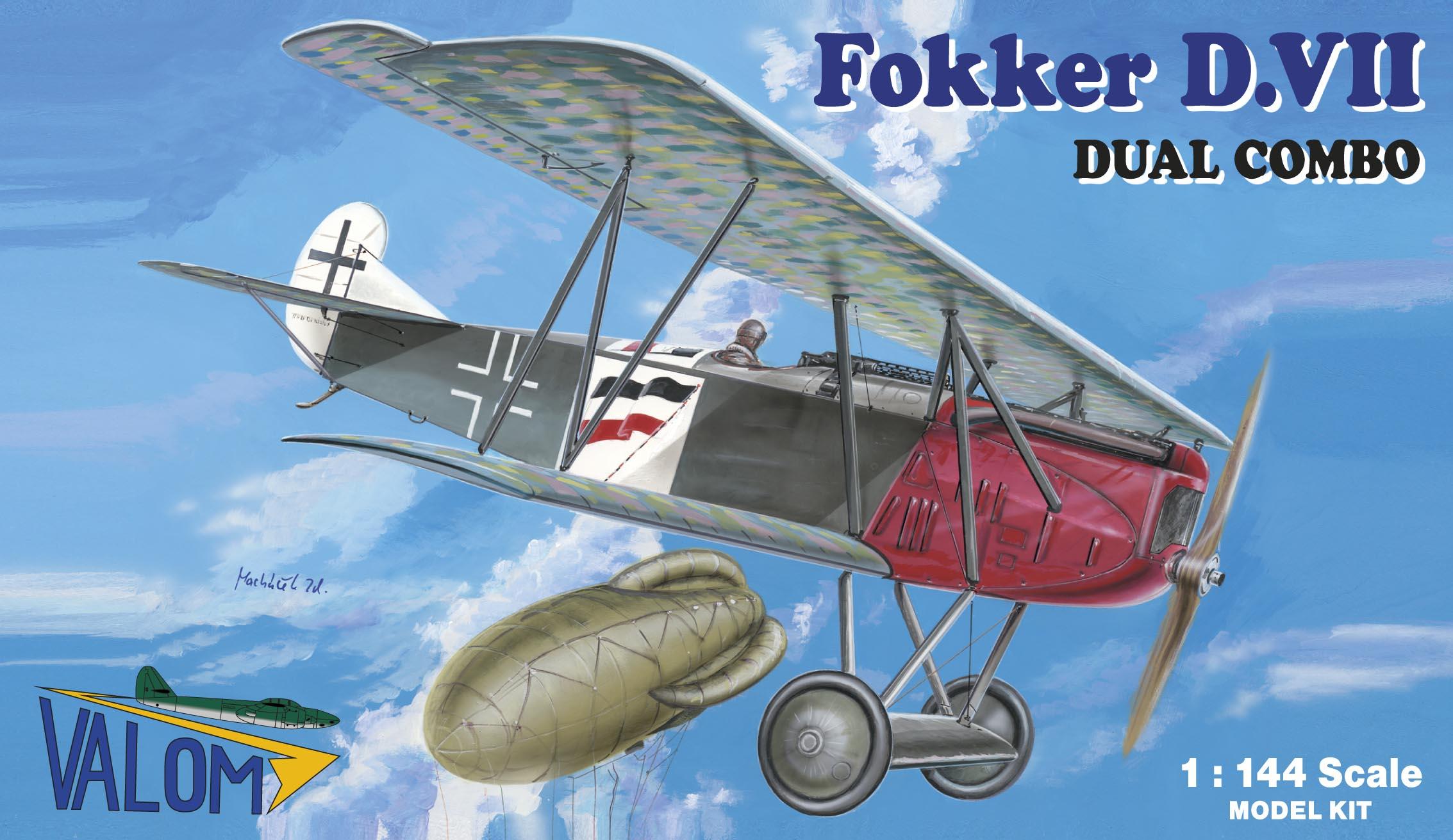 Valom Fokker D.VII (dual combo)