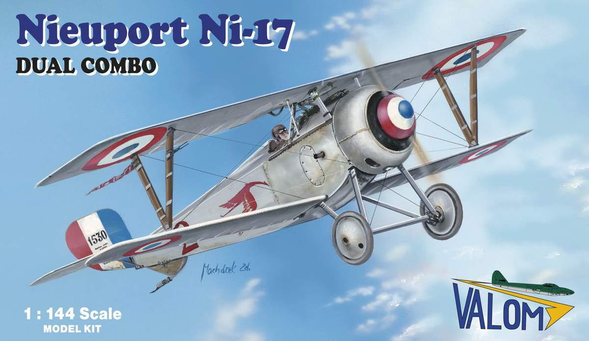 Valom 1/144 Nieuport Ni 17 (Dual Combo)