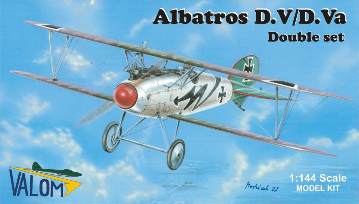 Valom 1/144 Albatros D.V/D.Va