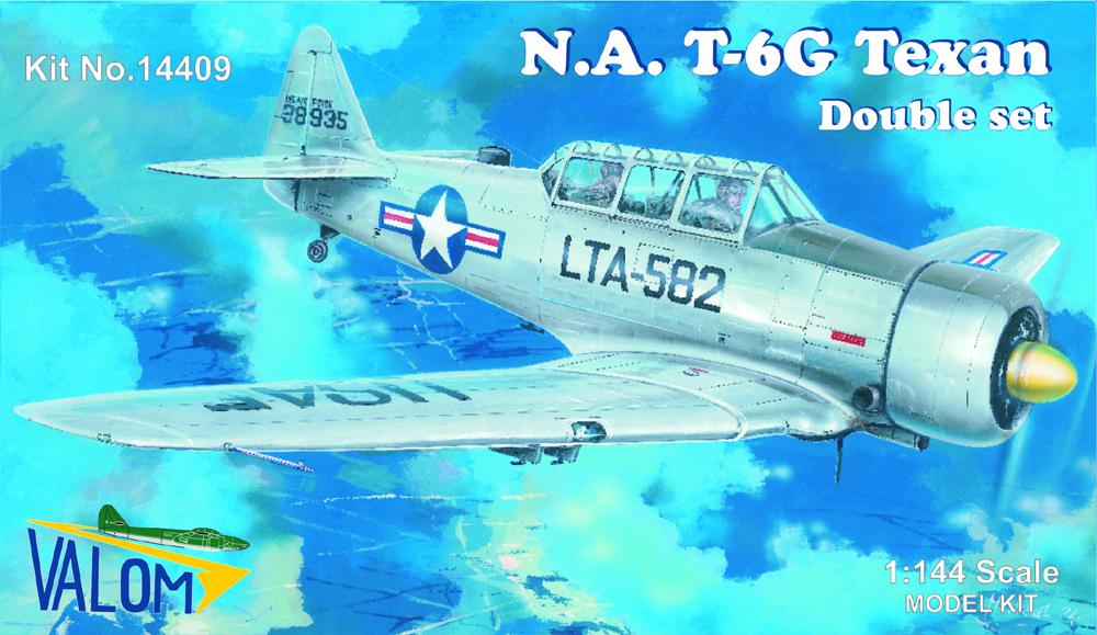 Valom N.A.T-6G Texan (double set - silver series)