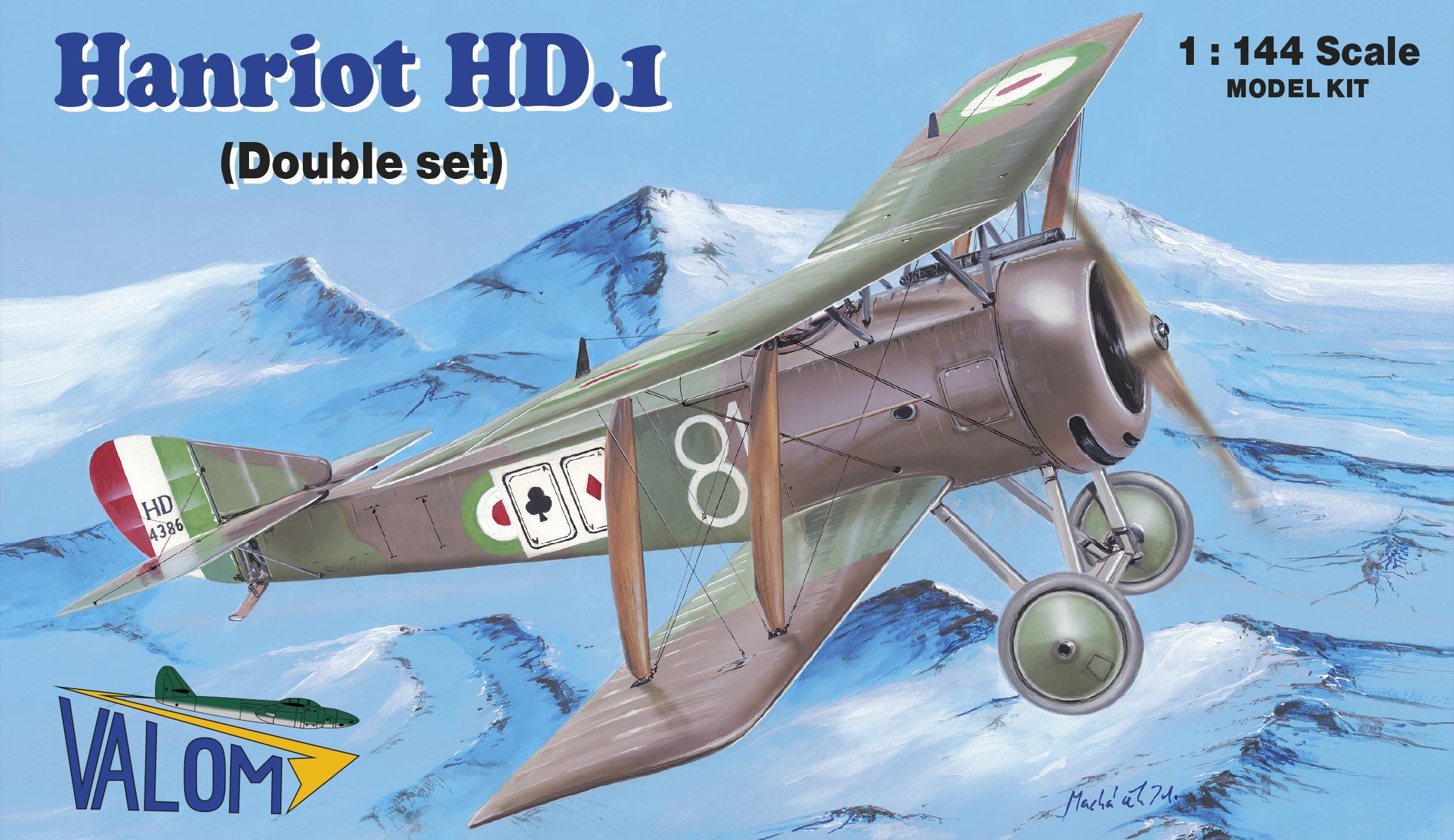 Valom Hanriot HD.1 (double set)
