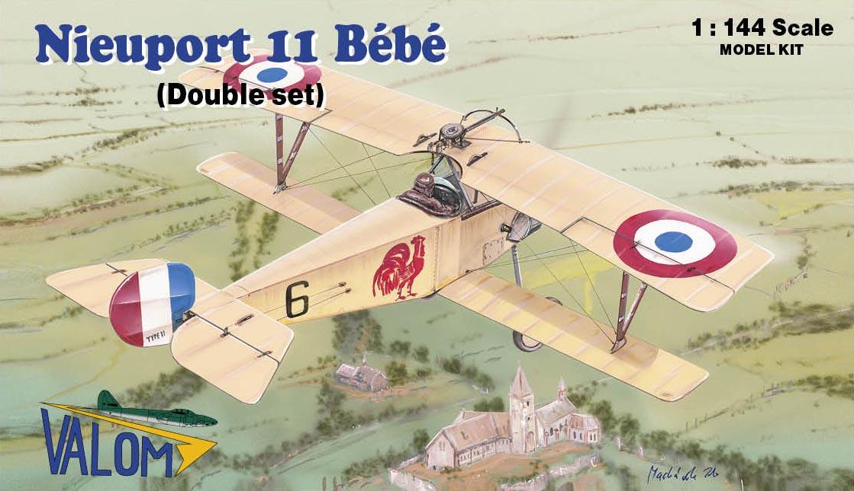 Valom Nieuport 11 B�b� (double set)