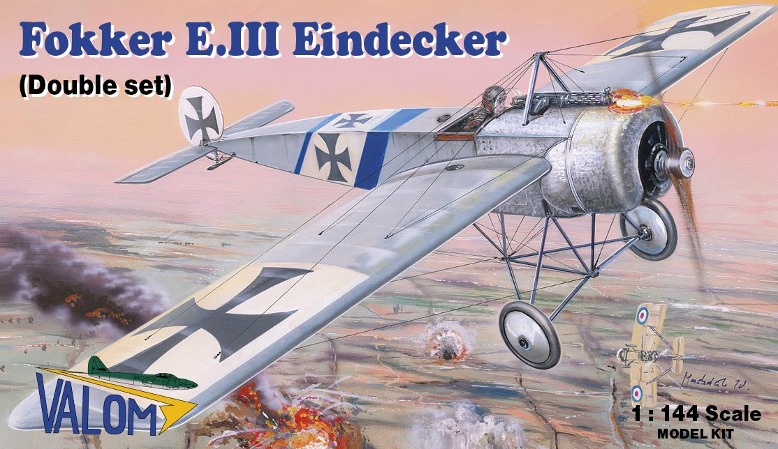 Valom Fokker E.III Eindecker (double set)