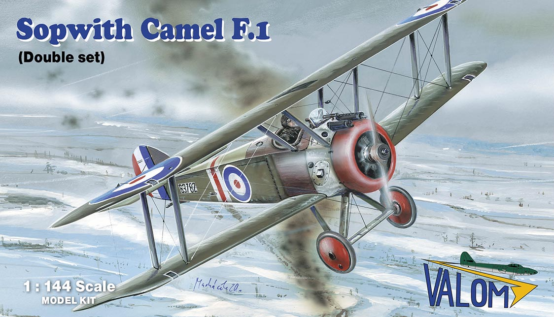 Valom Sopwith F.1 Camel (double set)