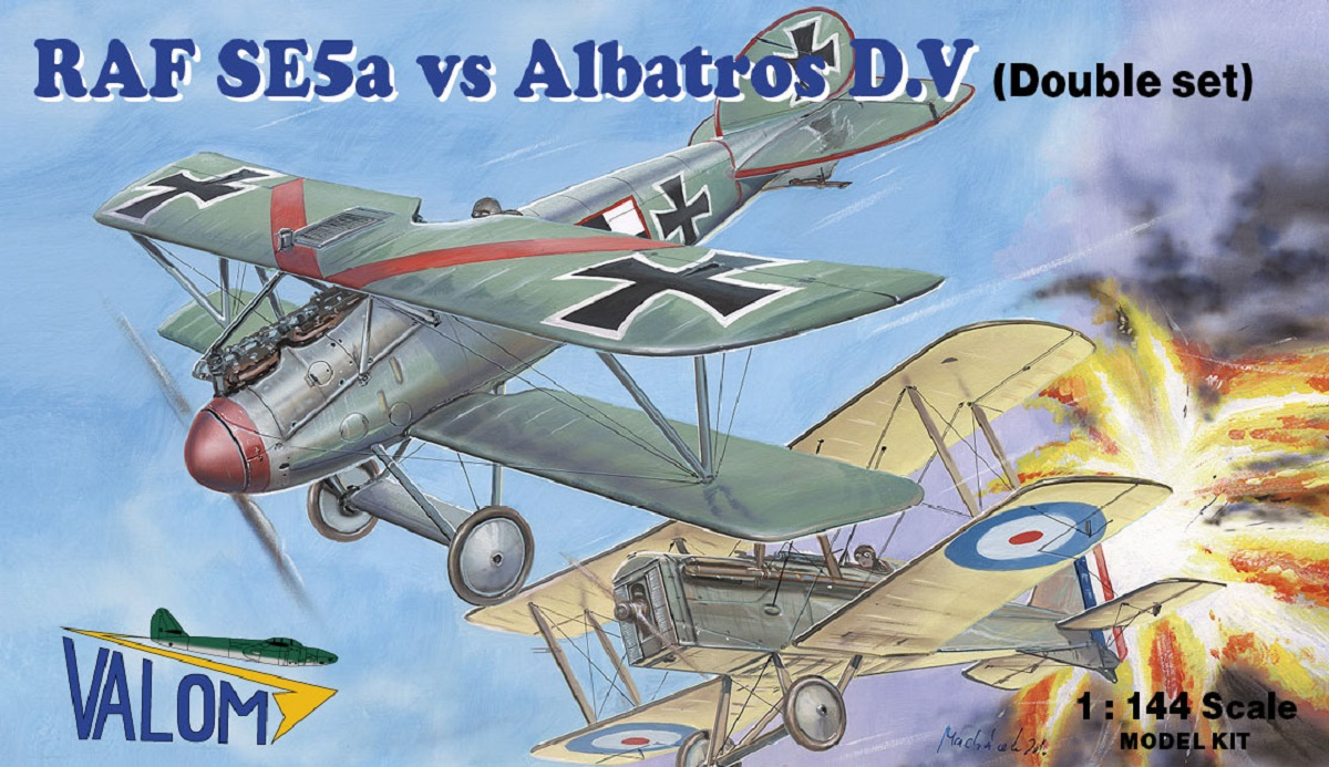 Valom RAF SE5a vs Albatros D.V (four kits)