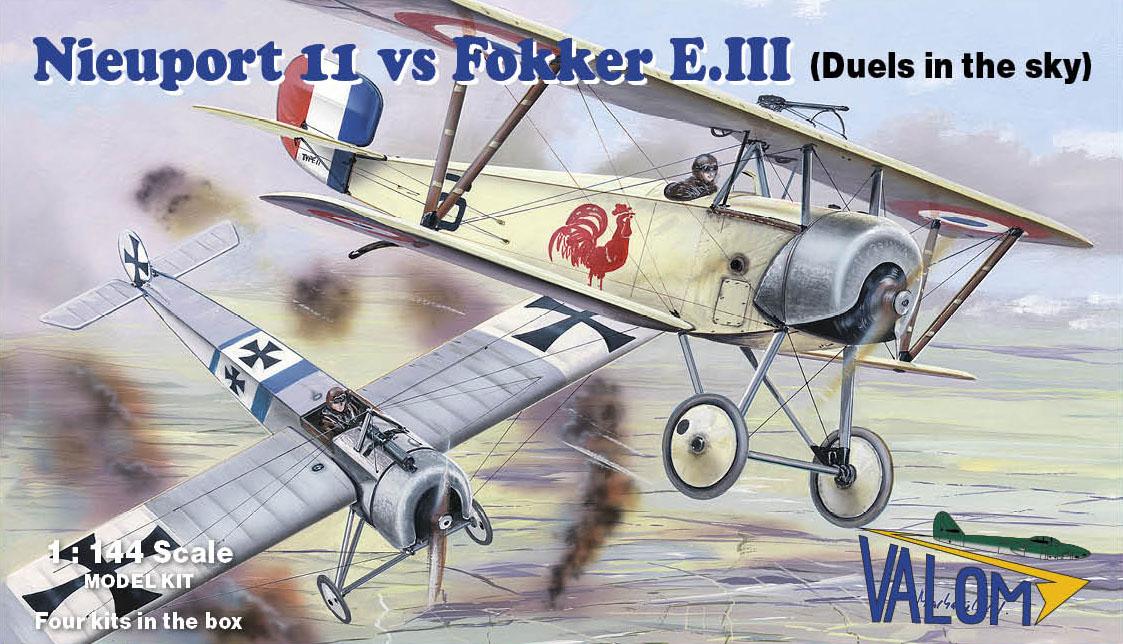 Valom Nieuport 11 vs Fokker E.III (Duels in the sky)