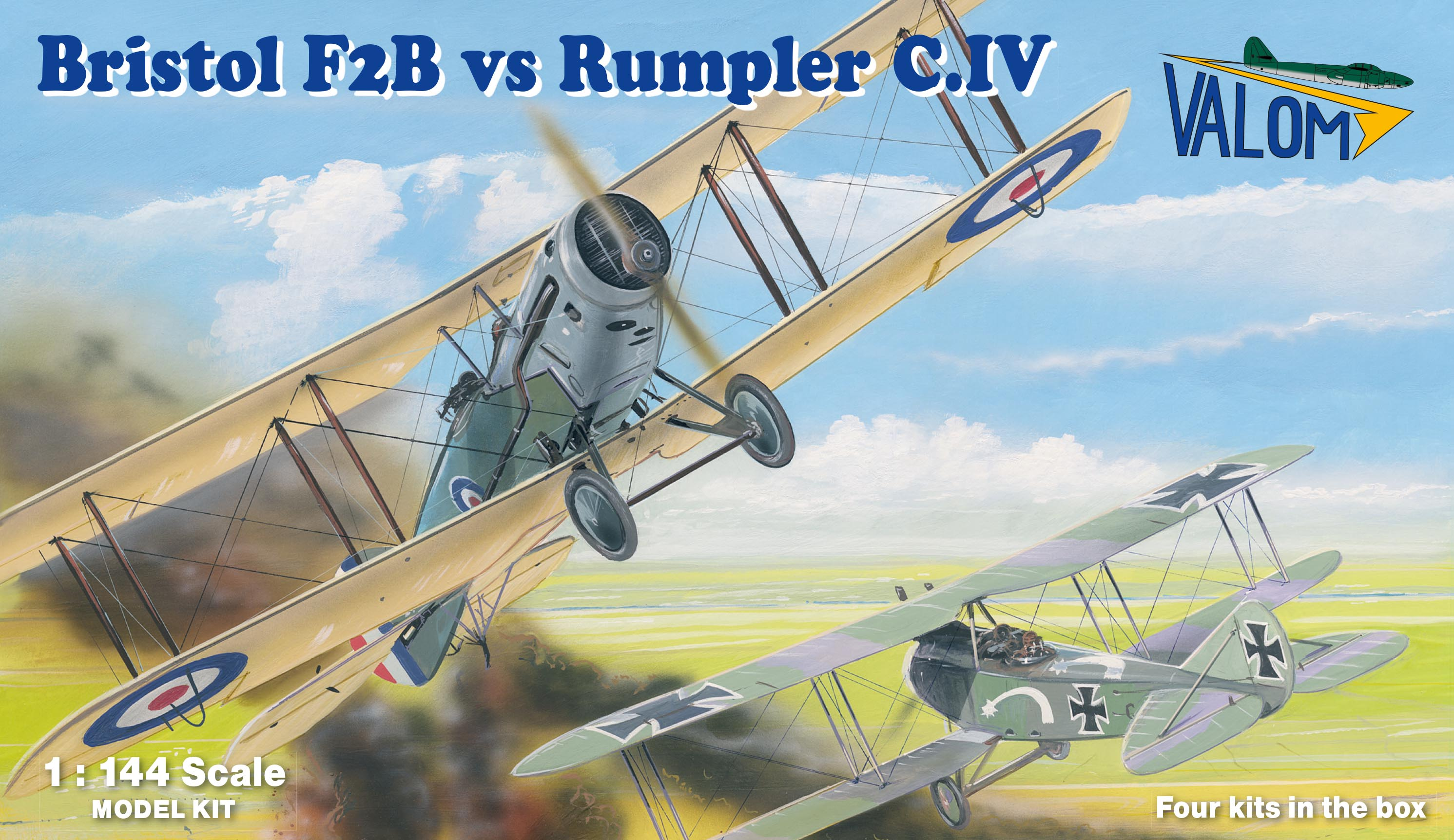 Valom Bristol F2B vs Rumpler C.IV (Duels in the sky))