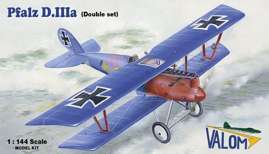 Valom 1/144 Pfalz D.III (Double Set)