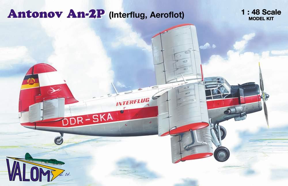 Valom Antonov An-2P (airliner) Interflug, Aeroflot