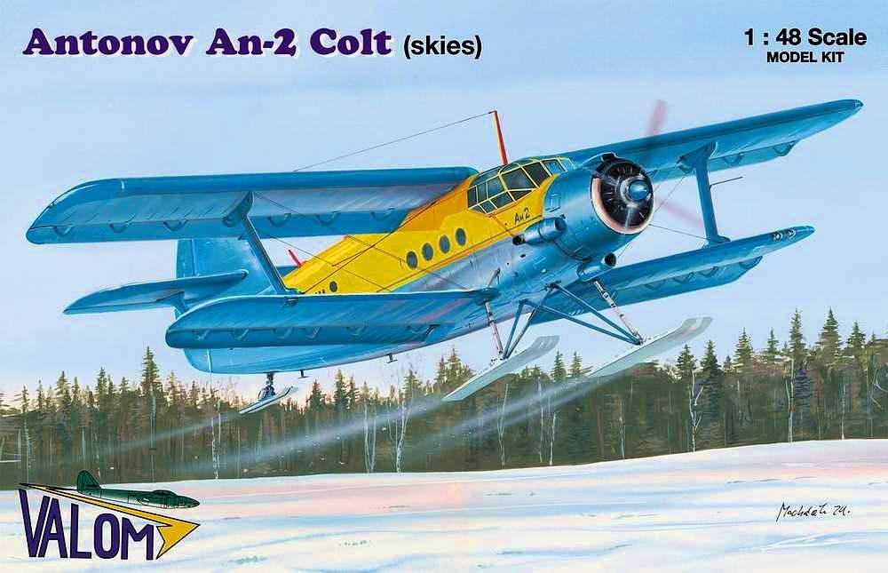 Valom Antonov An-2 Colt (skies)