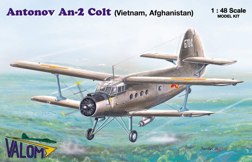 Valom Antonov An-2 (Vietnam, Afghanistan)