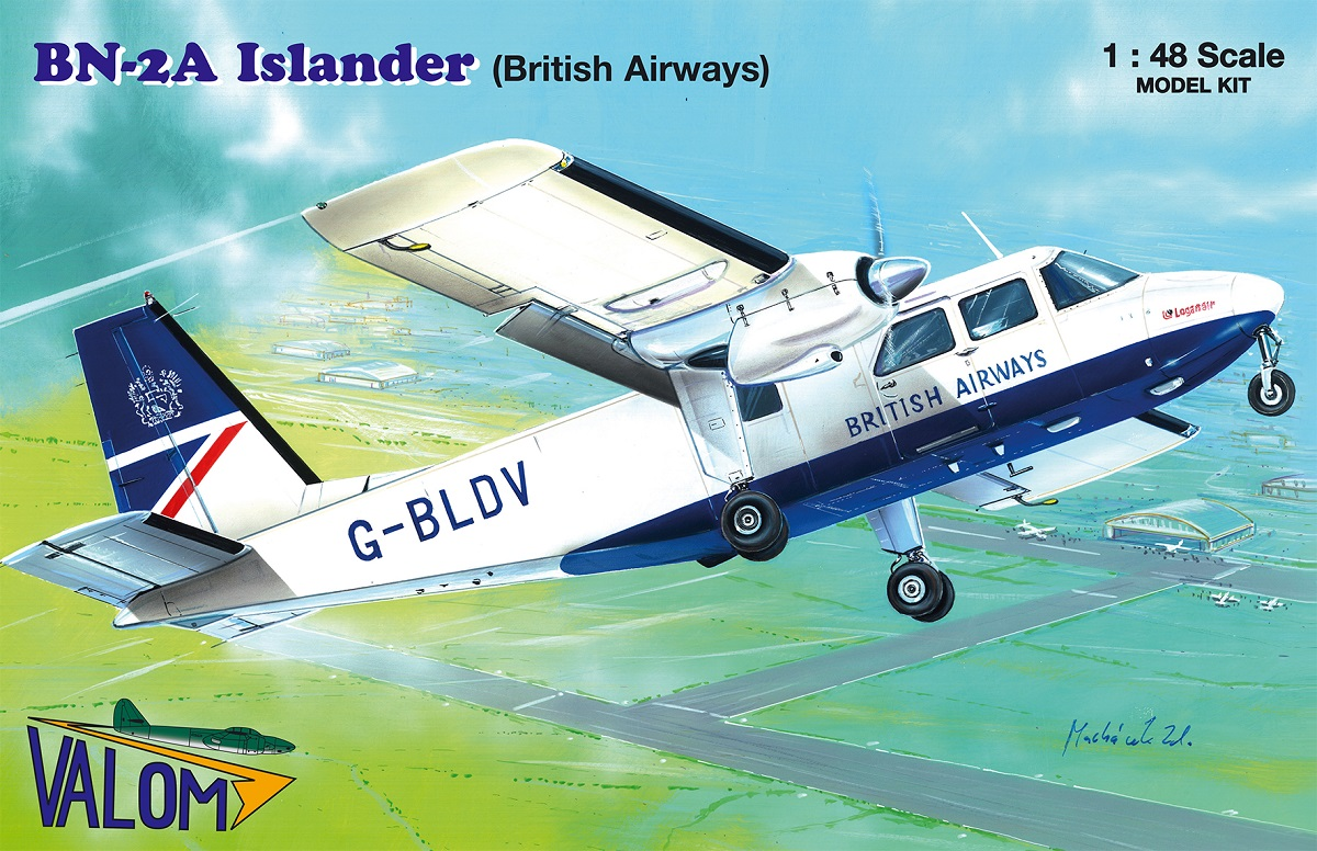 Valom Britten-Norman BN-2A Islander (British Airways)