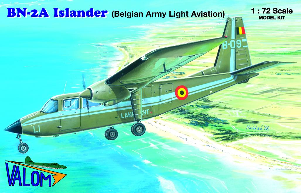 Valom Britten-Norman BN-2A Islander (Belgium)