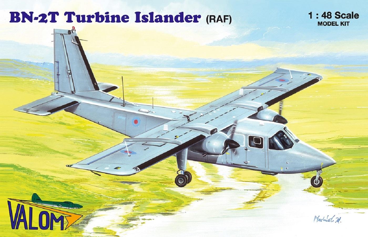 Valom Britten-Norman BN-2T Turbine Islander (RAF)