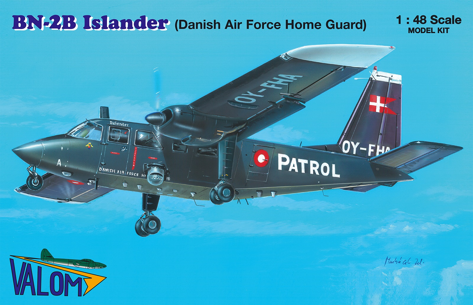 Valom Britten-Norman BN-2B Islander (DAFHG)