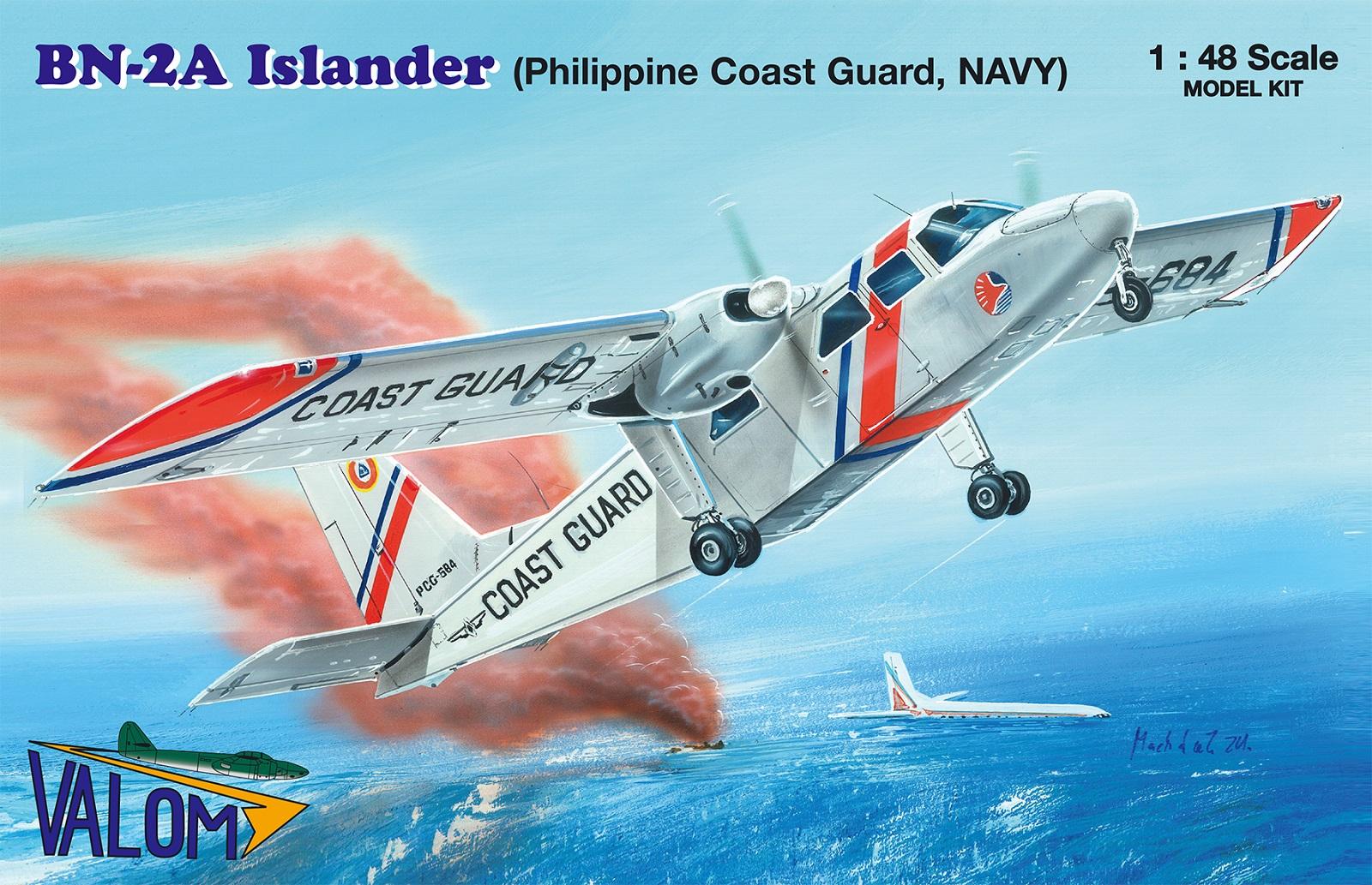 Valom Britten-Norman BN-2A Islander (Philippine CG.NAVY)