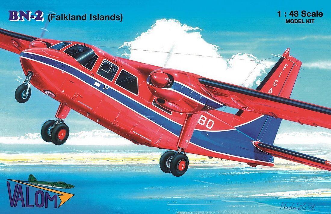 Valom 1/48 Britten-Norman BN-2 Islander (Falkland Islands)