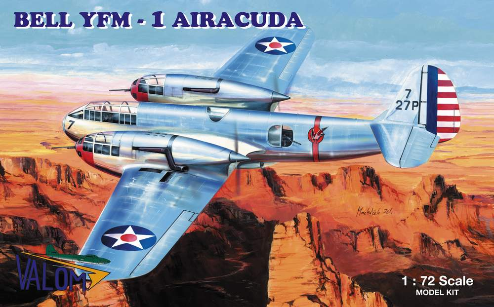 Valom 1/72 Bell YFM -1 Airacuda
