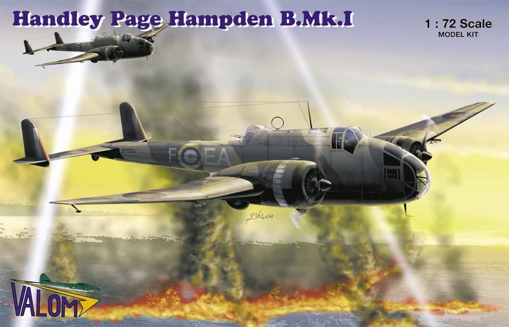 Valom Handley Page Hampden B.Mk.I