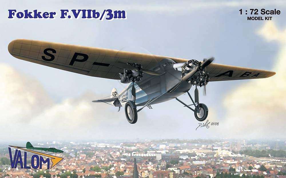 Valom Fokker F.VIIb/3m