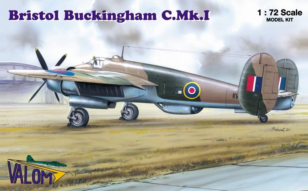Valom 1/72 Bristol Buckingham C.Mk.I