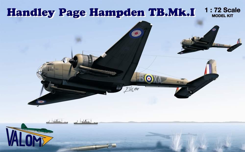 Valom Handley Page Hampden TB.Mk.I