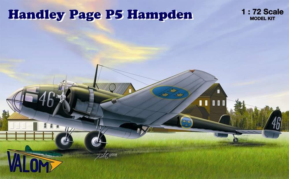 Valom Handley Page P5 Hampden