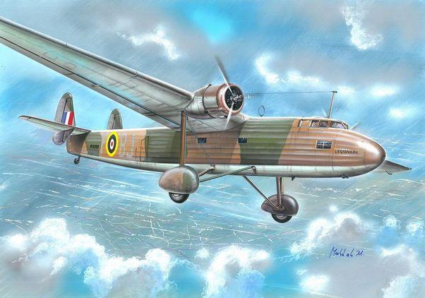 Valom Handley Page Sparrow Mk.II