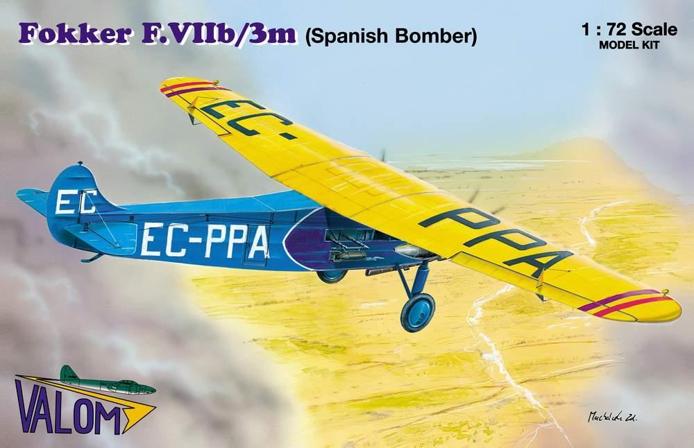 Valom Fokker F.VIIb/3m (Spanish Bomber)